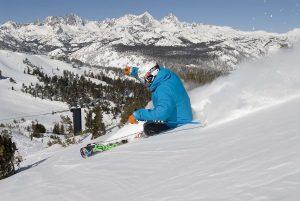 data de abertura dos ski resorts Mammoth California