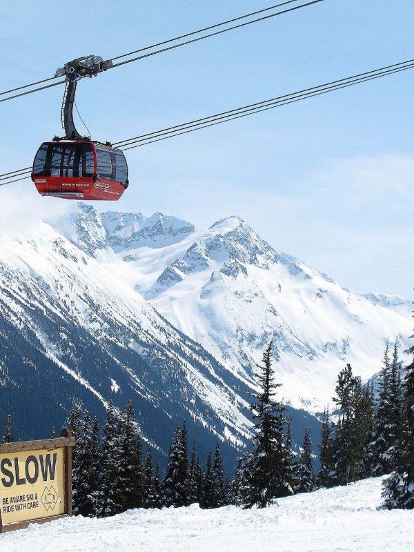 whistler peak tp peak gondola
