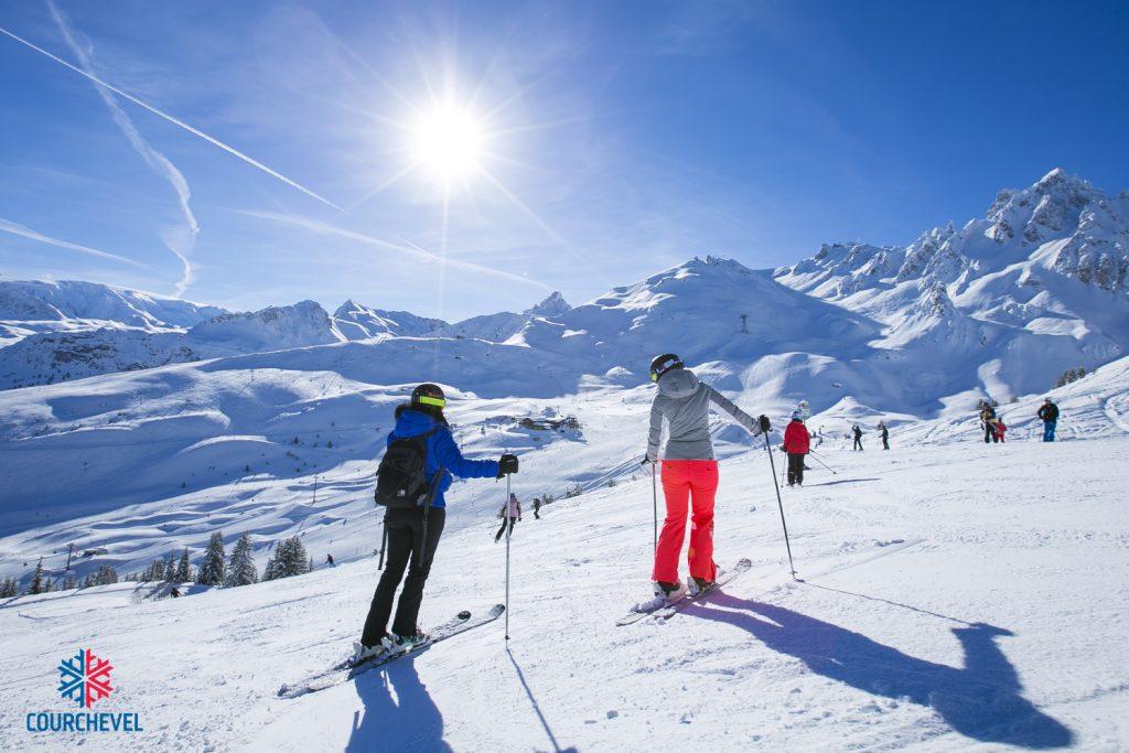 ski courchevel 2022 frança