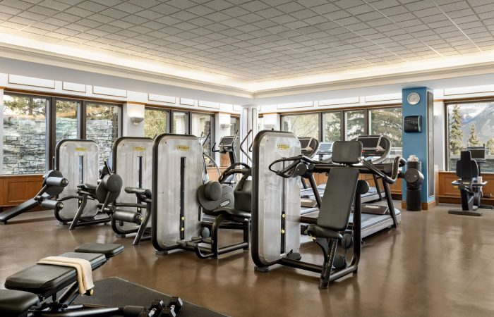 Fairmont Banff Fitness Room