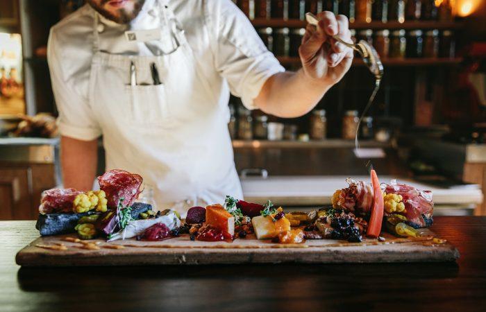 Fairmont Banff Grapes Restaurant Charcuterie