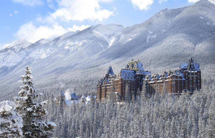 Fairmont Banff Vista Externa