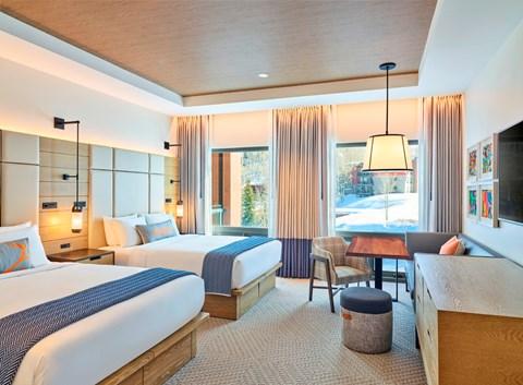 Limelight Hotel snowmass - Deluxe Room com 2 Queen Beds