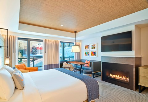 Limelight Hotel snowmass - Luxury Room com King Bed