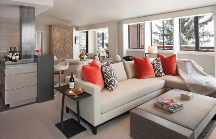 The Little Nell - Suite Living Room
