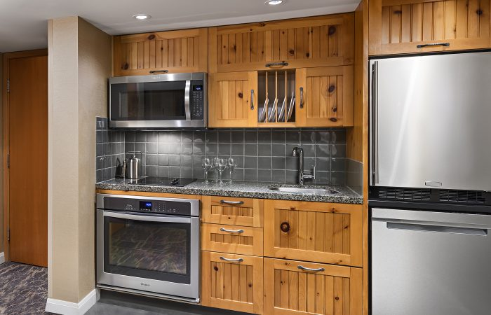 Westin Whistler - Cozinha do Deluxe Studio Suite
