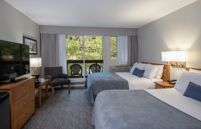 Whistler-Village-Inn-Hotel Room With 2 Double Beds