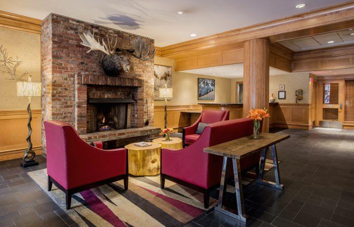 Whistler Village Inn Lobby