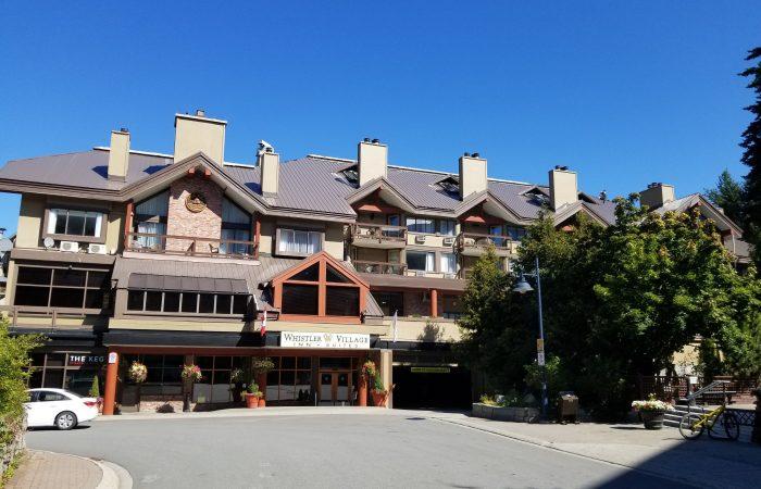 Whistler-Village-Inn-Vista externa