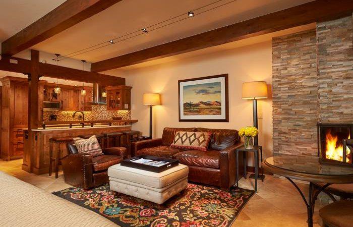 aspen square condo fireplace studio2