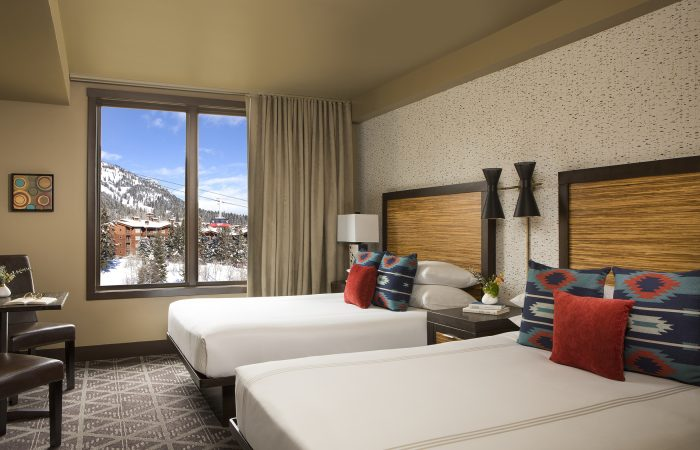 Hotel Terra Jackson Hole - Guest Room With 2 Queen Beds