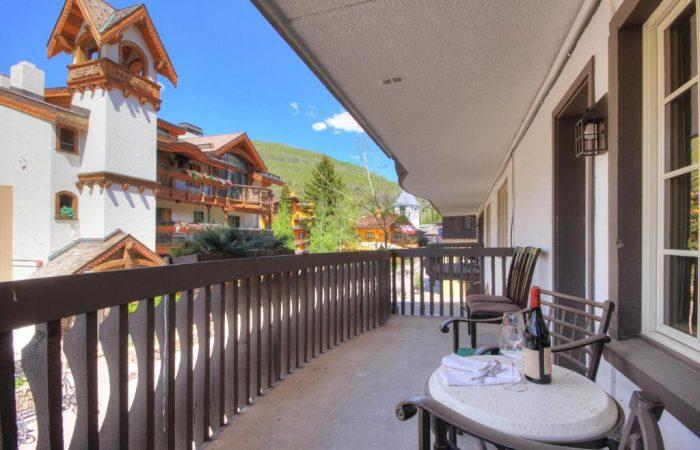 Lodge at Vail - 1 Bedroom Condo - Varanda