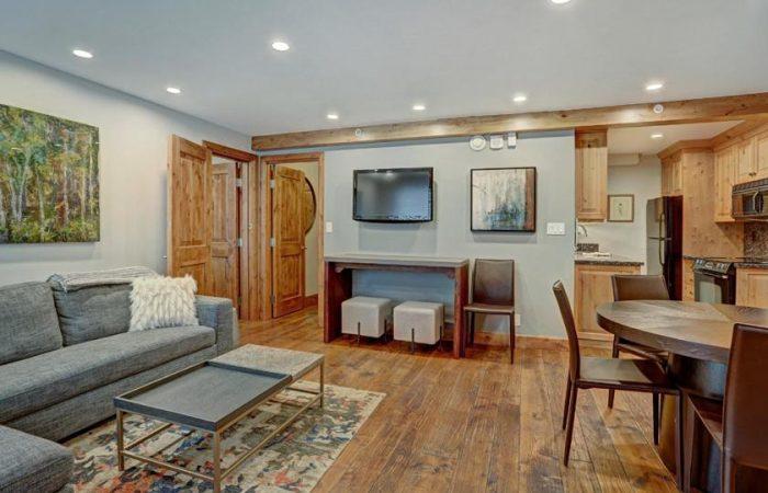 Lodge at Vail - 2 Bedroom Condo - Living