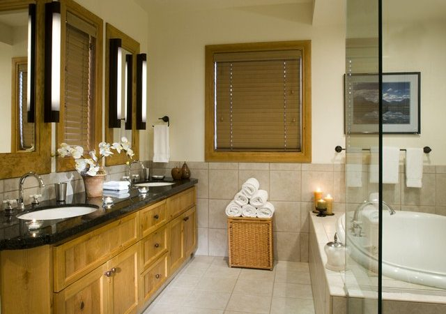 Snake River Lodge - Condo Banheiro