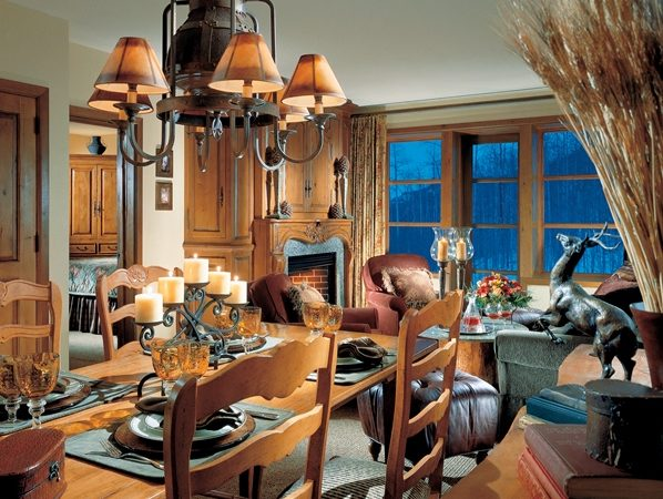 Snake River Lodge - Condo Living Room