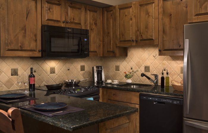 Teton Mountain Lodge - 1 Bedroom Suite Cozinha