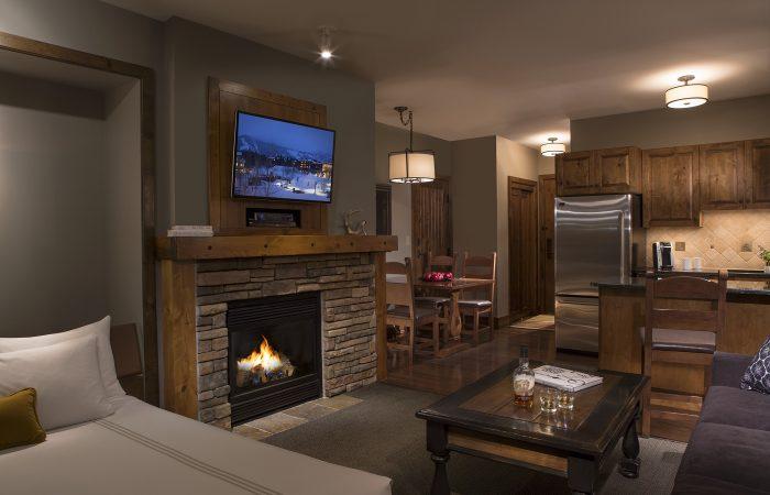 Teton Mountain Lodge - Alpine Studio com Murphy Queen Bed