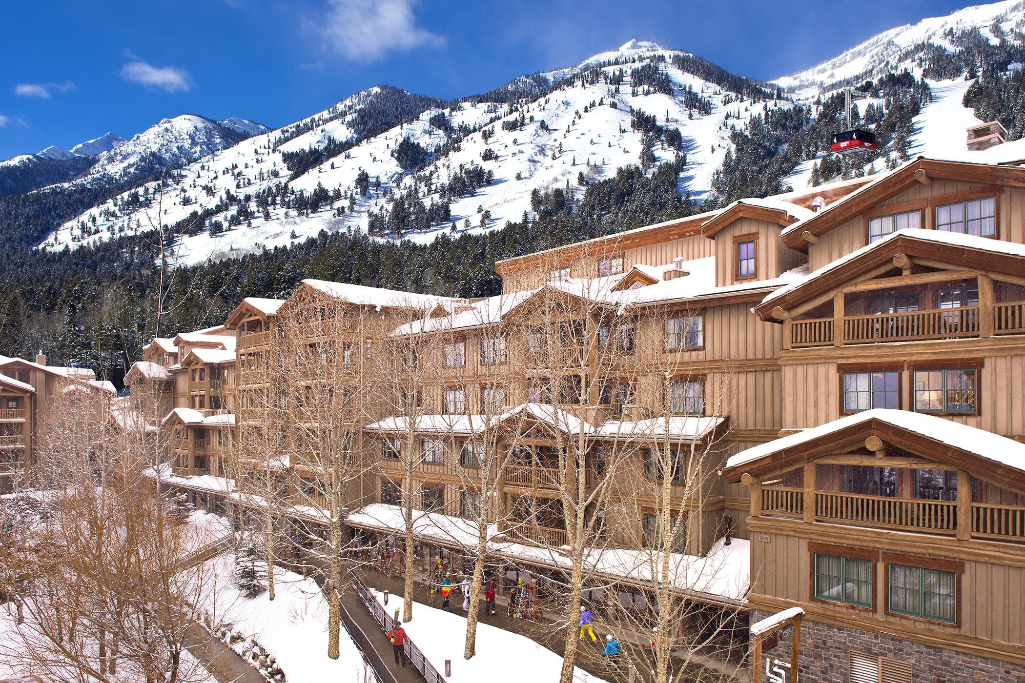 Teton Mountain Lodge - Exterior