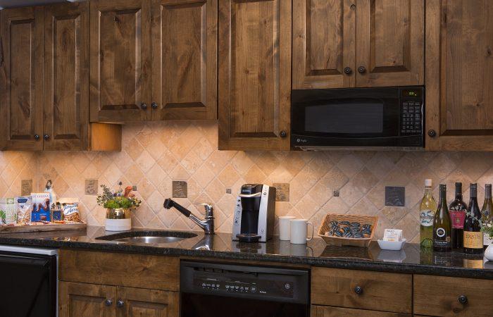 Teton Mountain Lodge - Grand King Room - Cozinha