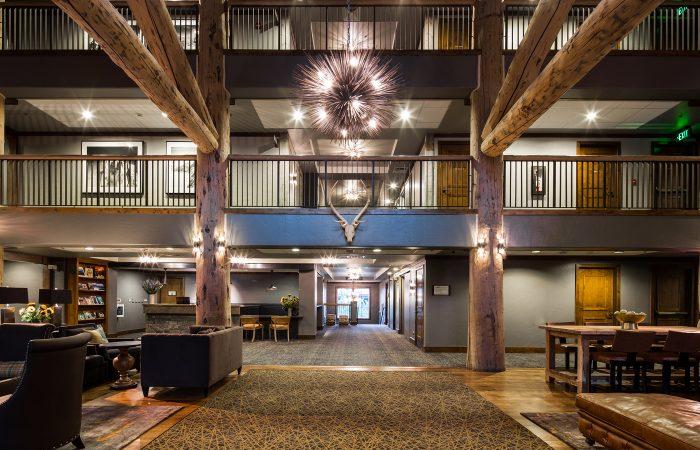 Teton Mountain Lodge - Lobby