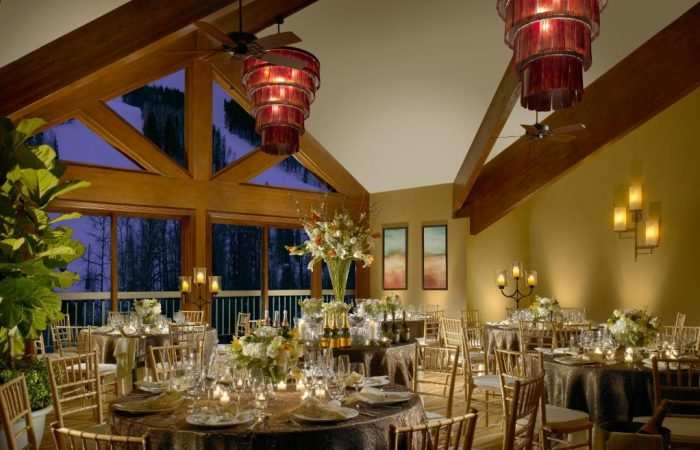 The Osprey Beaver CReek - Restaurante