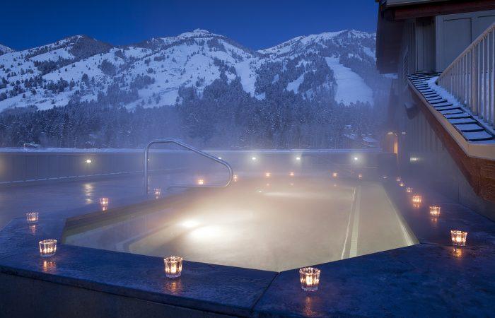 Teton Mountain Lodge - Jacuzzi no Rooftop