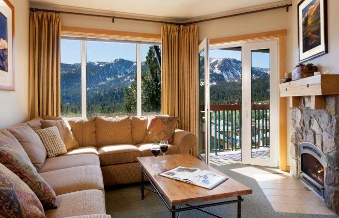 juniper_springs resort - 1 bedroom condo - living
