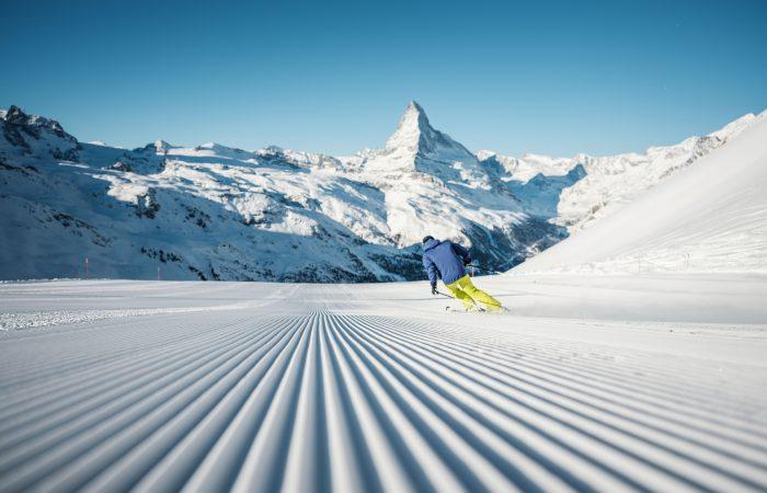 Pistas perfeitas Zermatt