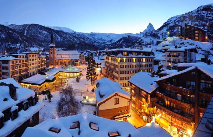 Grand Hotels in Village Centre - zermatt