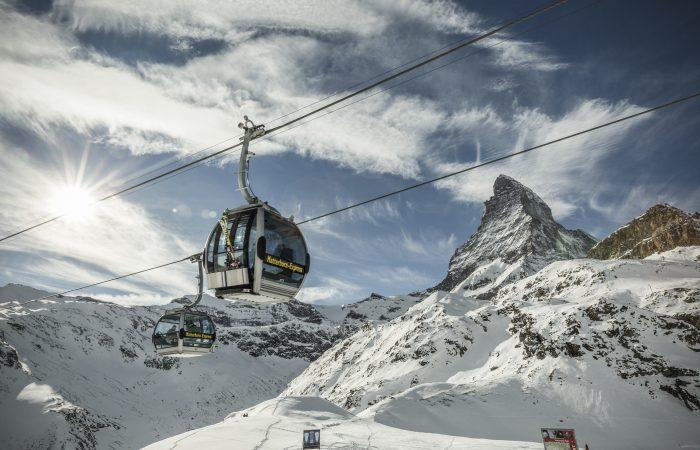 Matterhorn-Express (Zermatt - Trockener Steg) Winter