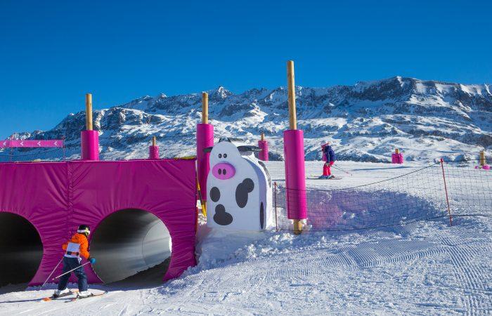 Alpe d Huez França Area Ski infantil