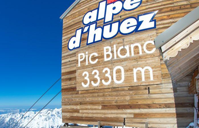 Alpe d Huez França Pic Blanc
