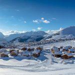 Alpe d Huez França Estação deSki