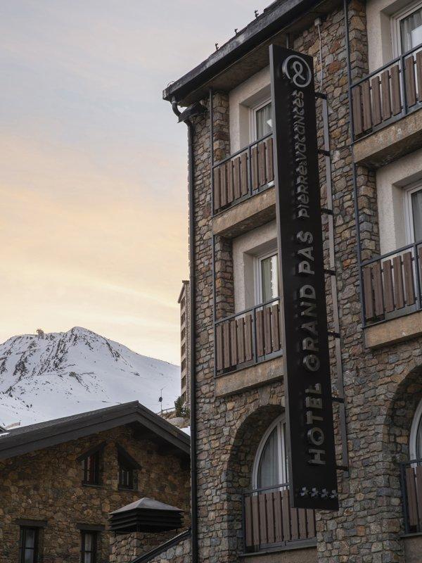 Grand Pas Hotel - Andorra - Vista Externa