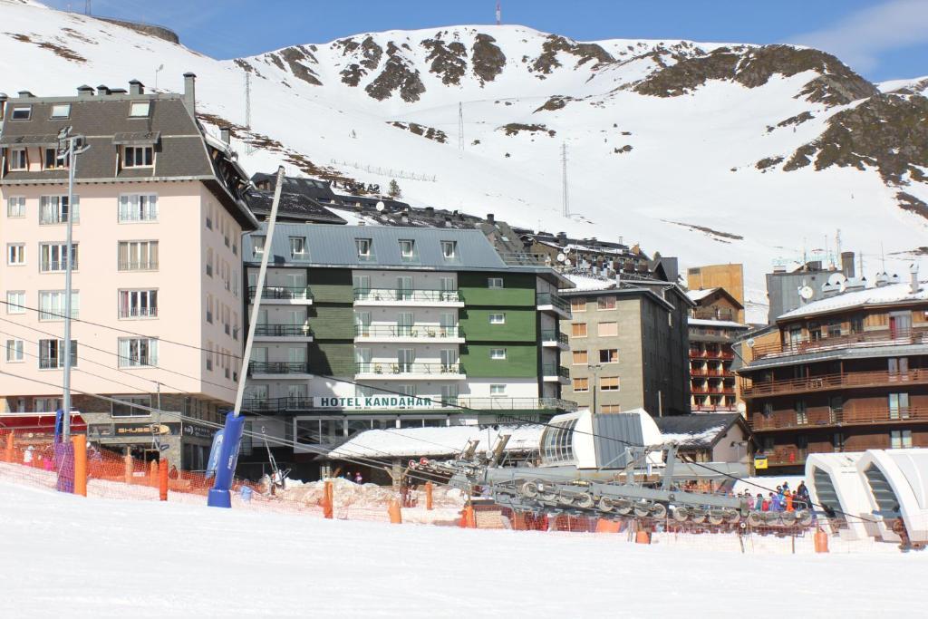 Hotel Kandahar Pas de La casa Andorra - Vista Externa